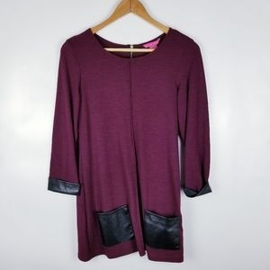 Sunny Leigh Small Burgundy Tunic